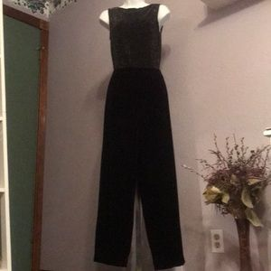 Super JM Collection Black Velvet Pants- SM